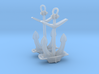 1/96 IJN Stern Anchor 3d printed