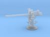 1/240 3 inch 50 [7.62 Cm] Deck Gun 3d printed