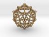 Dodecahedron - Icosahedron 3d printed