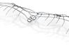 Leonardo Da Vinci's Glider 3d printed