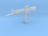 M16A4 1/16 scale 3d printed