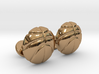 Basketball CuffLinks 3d printed Basketball Ball CuffLinks