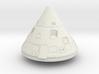Apollo 1 Command Module 1:24  3d printed