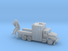 MOW Rail Truck With Hoist 1-87 HO Scale   3d printed