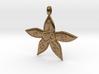 Starfish OM GOA Symbol Jewelry Necklace 3d printed