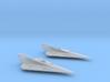 Delta-7 Offset astromech&Central astromech 1/270 3d printed