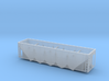 BNSF RD4 Hopper - Zscale 3d printed