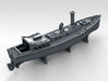 1/400 WW2 RN Boat Set 4 with Mounts 3d printed 50ft Steam Pinnace
