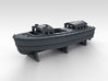 1/600 WW2 RN Boat Set 4 Without Mounts 3d printed 35ft Admirals Launch Mount NOT Included