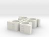 PRHI Space Walls Connector Type D 4x 3d printed