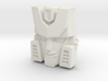Hubcap Face (Titans Return) 3d printed