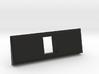 1 Coin Bezel (3 coin wide) - Pinball Coin Door 3d printed