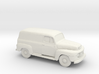 1/87 1948-50 Ford F 1 Panel Truck 3d printed