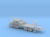 MOW Rail Truck 4 Door Cab 1-87 HO Scale 3d printed