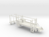 MOW Rail Truck For A Two Door Cab 1-87 HO Scale  3d printed