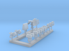 1:350 Scale Modern Aircraft Carrier Radars 3d printed