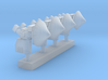1:200 Scale AN/SPN-46 Aircraft Approach Radars (4x 3d printed