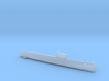Foxtrot-class submarine, Full Hull, 1/2400 3d printed