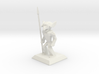 LowPoly Goblin Spearnman 3d printed