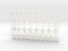 Custom Order 020617 36-set 3d printed