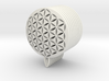Flower of Life Key Chain 3d printed