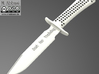 Training Knife (29cm) 3d printed The training knife rendered