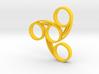 Tri-Swirl Fidget Spinner 3d printed