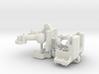 Combat Tank Waist Support v2 3d printed