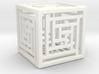 Cube Lattice 3d printed