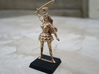 Elf Noblewoman RPG tabletop Mini 28mm  3d printed printed in Bronze