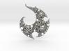 Yin Yang Infinity-Spiral Pendant 3d printed