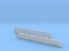 n-scale bridge Double Track Skewed Left 3d printed