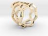 Honeycomb Ring 3d printed