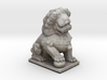Cute Chinese Guardian Lion  3d printed