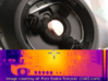 Flir Macro - Lens holder for Flir E4 - E9 Thermal 3d printed Image in place with thermal image thanks to Piotr Esden-Tempski