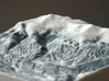 Breckenridge in Winter, Colorado, 1:50000 3d printed