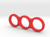 Notched Fidget Spinner 3d printed