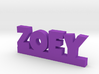ZOEY Lucky 3d printed