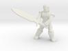 General Fighter Mini (Greatsword) 3d printed