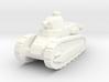 1/100 Renault tank 3d printed