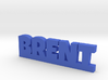 BRENT Lucky 3d printed
