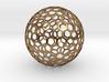 honeycomb sphere - 60 mm 3d printed