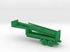 1/200 Scale Pershing Missile Tailer 3d printed