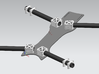 16mm Tube Clamp 3d printed Sample multirotor application