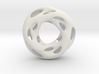 0609 IsoSurface F(x,y,z)=0 Diamond Tori [3] d=5cm 3d printed