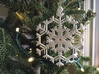Snowflake Ornaments - One Dozen Large 3d printed Example of one of the ornaments
