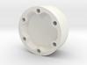 E-100 wheel hubcap 3d printed
