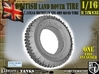 1-16 Land Rover 750x16 Tire 3d printed
