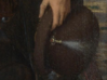 """Plume Holder """"Christopho"""" 3d printed Hans Memling's artwork the Donne Tryptich, made between 1470-1478."""