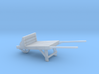 18th Century Wheelbarrow 1/24 3d printed